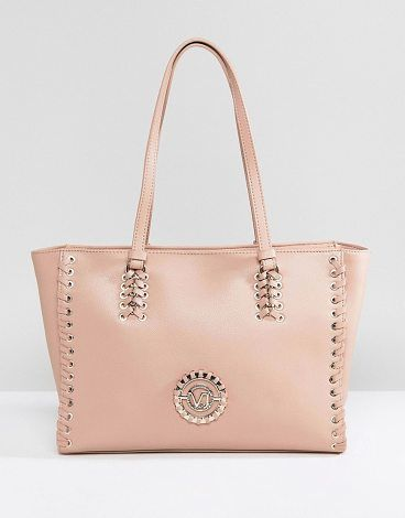 Trendy Women s Bags   Jeans Lace Up Tote with VJ Logo by Versace. Cart by  Versace, Plain design, Goes …   Fashion USA   Pinterest   Versace, Versace  jeans ... dc32017b59