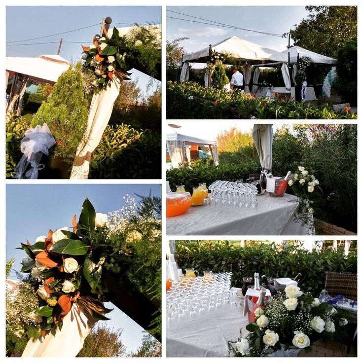 Personalizziamo in ogni dettaglio l'allestimento della location. @fioreriamattia #ferrara #matrimonio