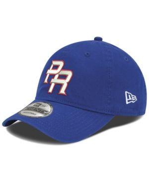 New Era Puerto Rico 2017 World Baseball Classic 9TWENTY Strapback Cap - Blue Adjustable