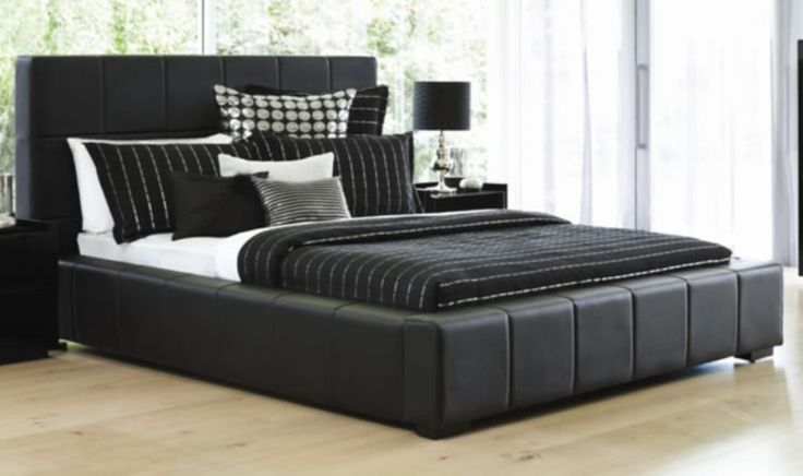 drift queen bed frame by stoke furniture harvey norman new zealand pinterest furniture queen beds and beds - Black Queen Bed