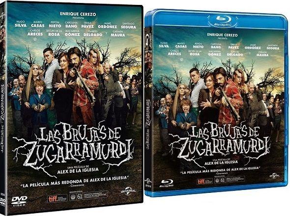 Las Brujas de Zugarramurdi' llega el 5 de marzo en DVD y Blu-ray después de arrasar en la pasada 28º edición de los premios Goya. Nominada a diez estatuillas consiguió hacerse con ocho de ellas, convirtiéndose en la película más premiada de la gala.