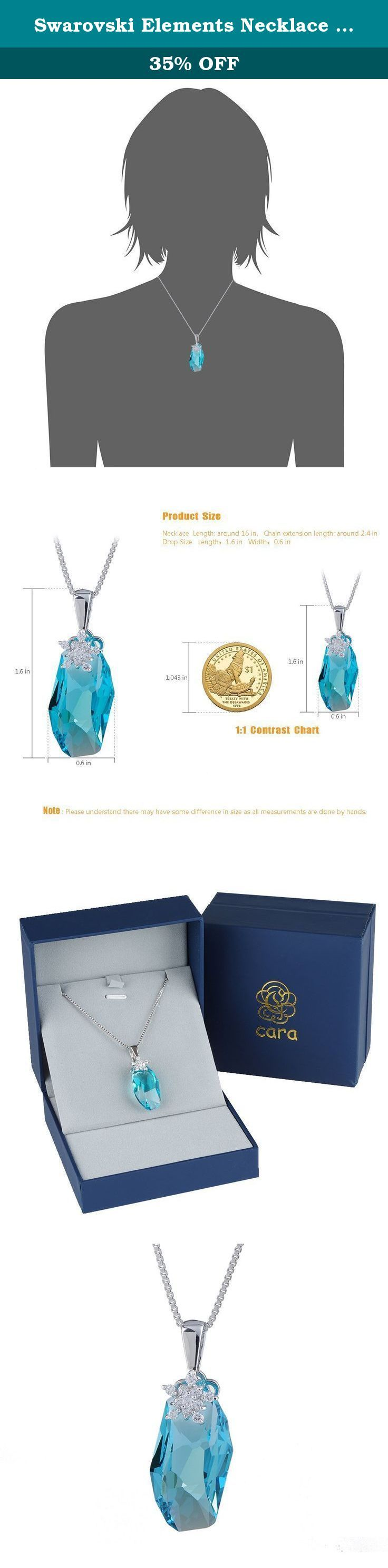 Swarovski Elements Necklace Women Wishing Stone Necklaces Pendant Crystal for Valentine's Day Party Birthday Gift Girlfriend Necklace Blue. Welcome to our Amazon store, enjoy your shopping! Please contact us firstly if you have any question Cara crystal is committed to provide the best jewelry and the best customer services to our customers, your feedback is our motivations to improve. We are looking forward to your ☆☆☆☆☆ feedback. Make sure you have Add this item to your Wish List to…