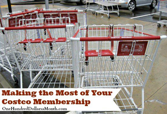 Making the Most of Your Costco Membership on $100 A Month at http://www.onehundreddollarsamonth.com/making-the-most-of-your-costco-membership/