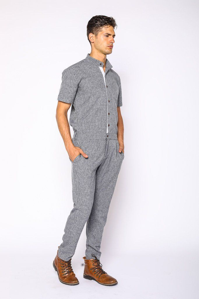 926caadaa1f2 Greyhound Fitted Mens Jumpsuit - Shop Now – RomperJack