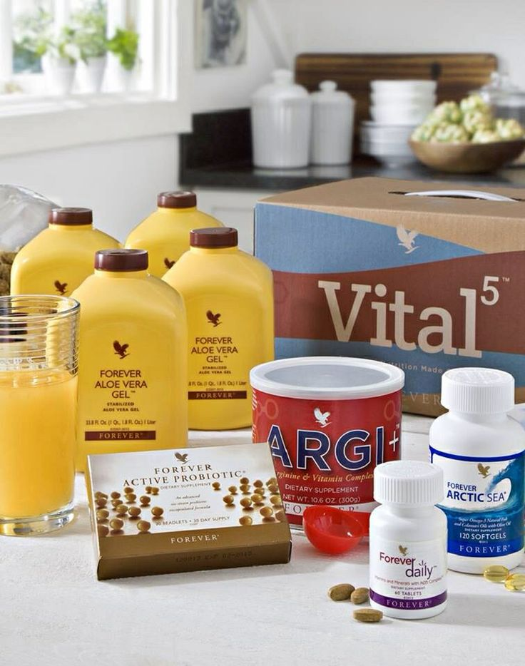 vital 5 is the perfect combination for a healthier u!