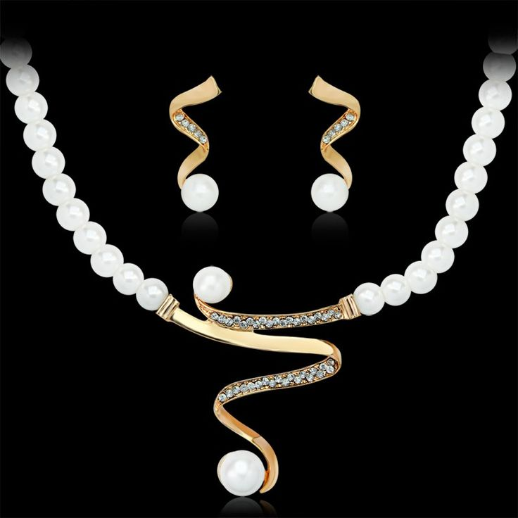 18k Gold Plated African Jewelry Set
