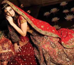 Textile industry in India is using BOLLYWOOD Bombshells to promote their new line of fashion.
