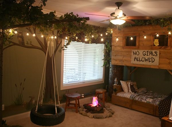 tree house bedrooms on pinterest tree house beds indoor tree house
