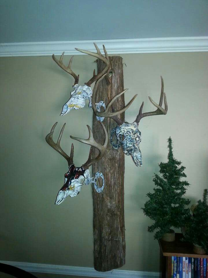 1000 Images About Deer Skull Ideas On Pinterest