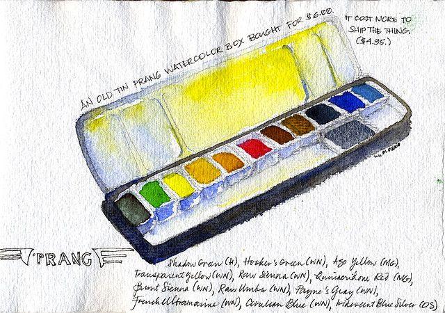 watercolor box | tin prang watercolor box | Flickr - Photo Sharing!