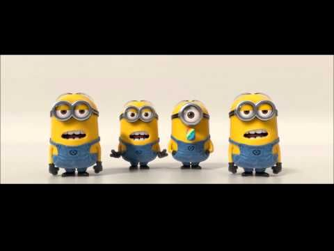 BANANA POTATO NAA MINION SONG Despicable Me 2 (2013)-- fun bilabial practice for P & B sounds, or tongue elevation with N.  1 minute long.