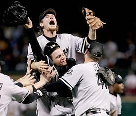 White Sox 2005 World Series Champions...favorite sports moment :)