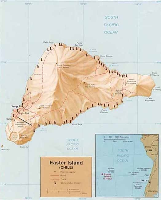 Easter Island, Moai, Rongorongo