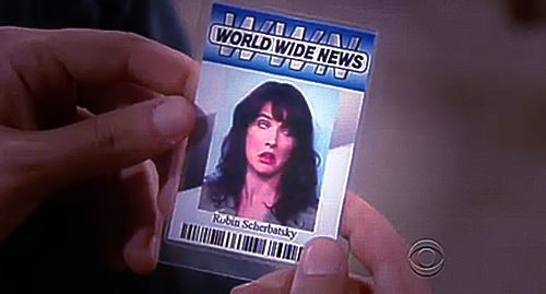 WORLD WIDE NEWS Robin Scherbatsky