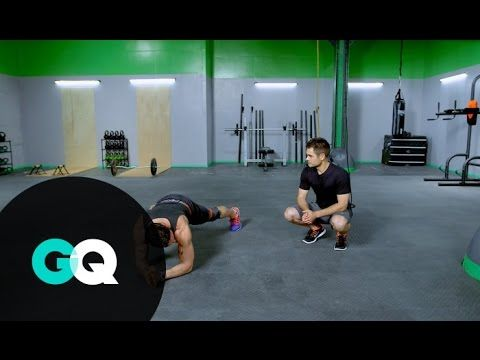 BOOT CAMP: Core Workout with Noah Neiman–GQ's Fighting Weight Series - YouTube