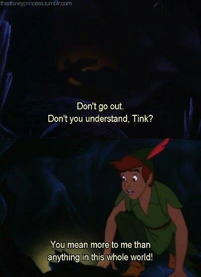 Peter Pan loves Tinker Bell ♥ - Peter Pan