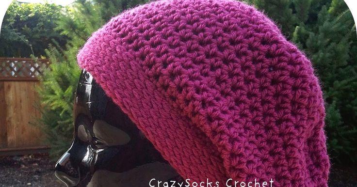 Josy Queiroz: Como fazer Gorro Desleixo em Crochet