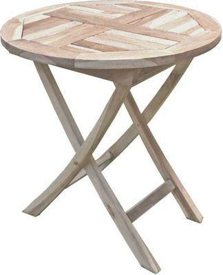 Gartentisch Tisch JAVA Klapptisch Garten Balkontisch Holztisch Rund Ø70  Teak Jetzt Bestellen Unter: ...