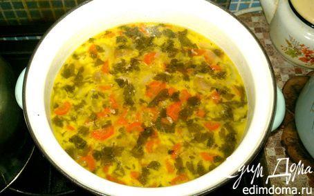 Суп с колбасным сыром и шампиньонами в мультиварке | Кулинарные рецепты от «Едим дома!»