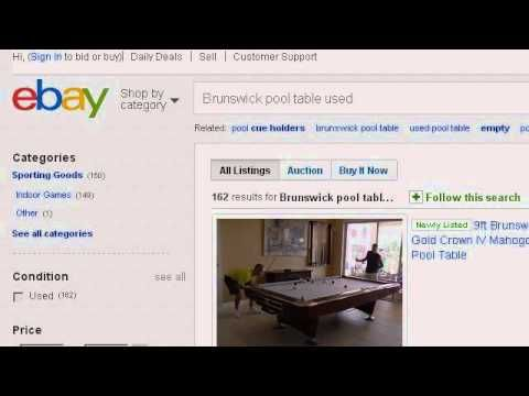How-To Move A Brunswick Pool Table - http://pooltabletoday.com/how-to-move-a-brunswick-pool-table/