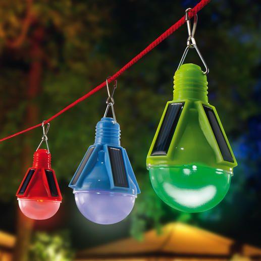 Solar LED Leuchten