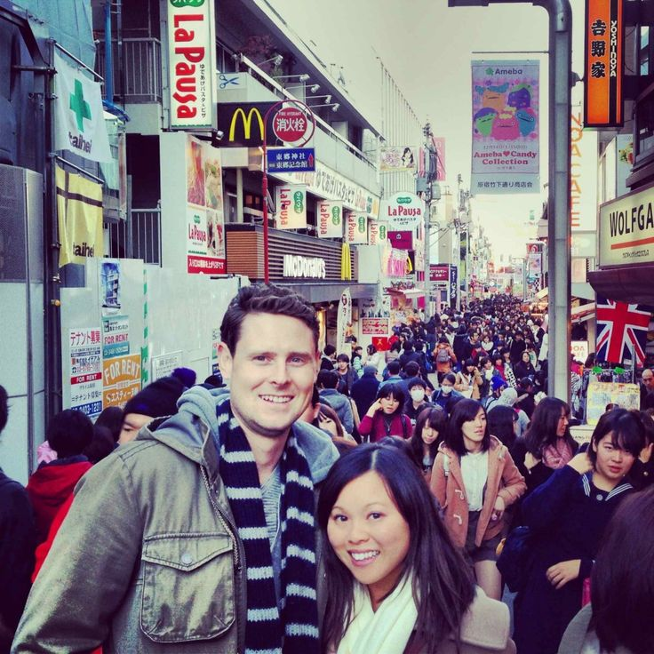 Takeshita Dori, a crowded shopping street in the Harajuku District - Travel Guide: Tokyo, Japan