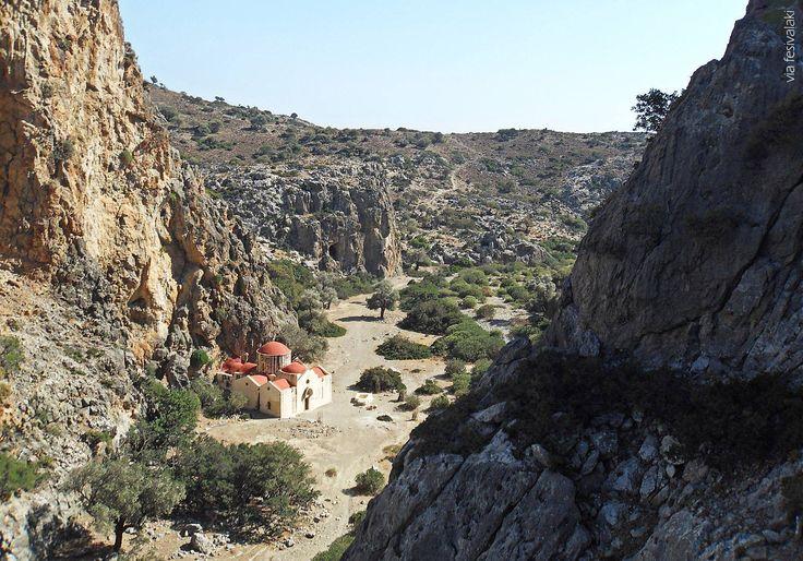 Agiofarago gorge