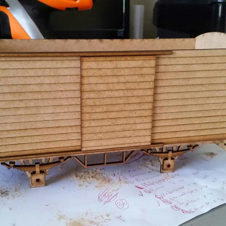 My attempt at designing and building g scale rolling stock