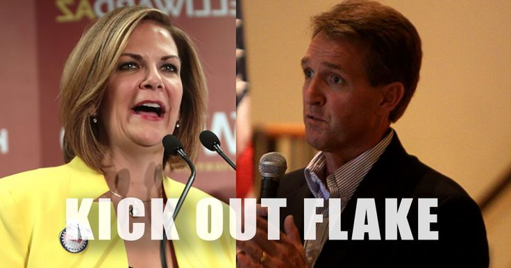 """Republican challenger Dr. Kelli Ward jumped to a 26 point lead over #NeverTrump RINO Senator Jeff Flake in the Arizona primary race in late August. But #NeverTrump RINO Senator Jeff Flake says the recent polls are """"not relevant."""" Senator Flake spoke with MSNBC this morning about his current situation. The Daily Caller reported: GOP Sen. …"""