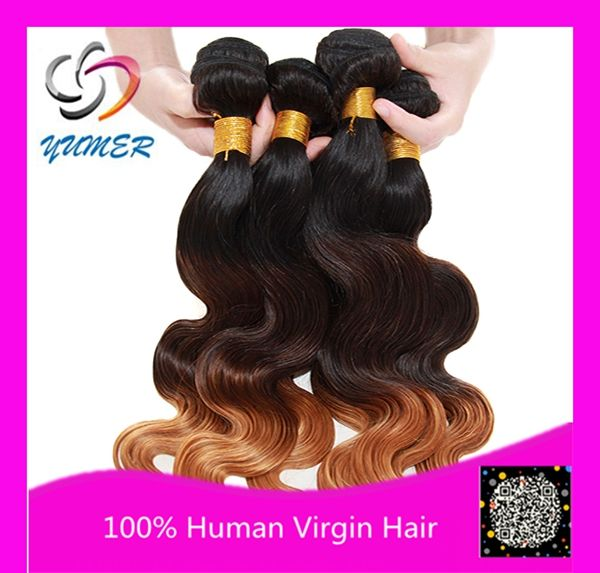 2015 New Arriving 100% Human Virgin hair Brazilian Brazilian Hair Weaving 6A Full thick no split ends Body Wave