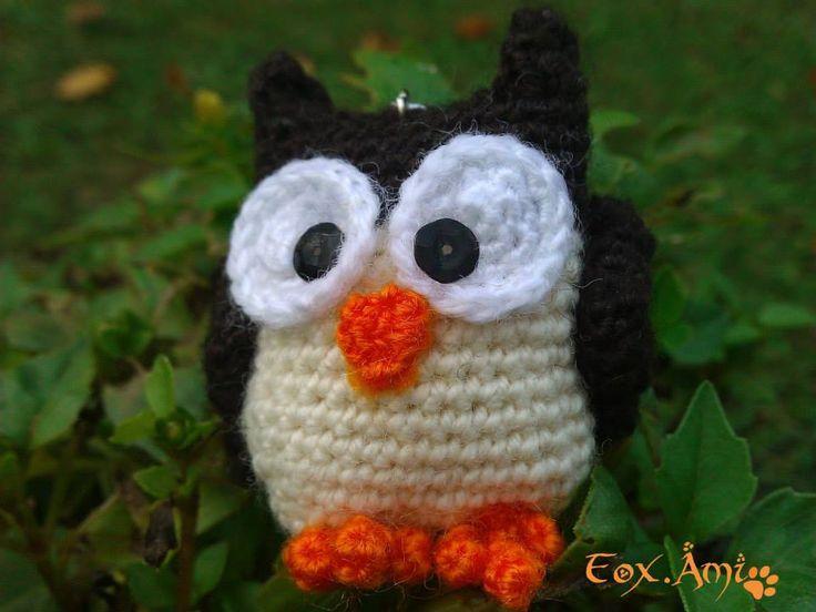 amigurumi owl FoxAmi crochet Pinterest