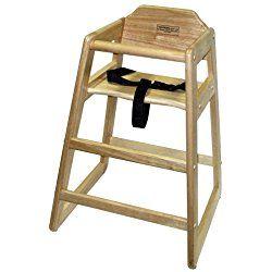 Lipper International 516 High Chair, Natural