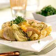 Venkel | recept: Pastasalade met kip en venkel
