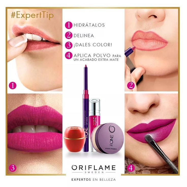 Labios impecables by Oriflame Cosmetics ❤MB