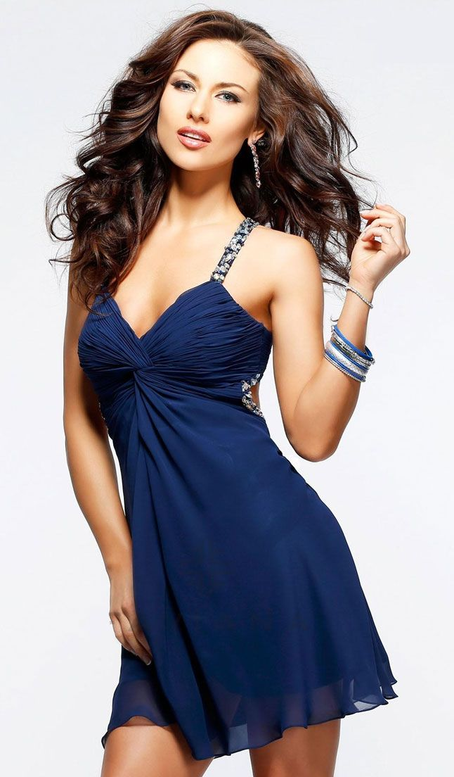 Blue dress cocktail vhs
