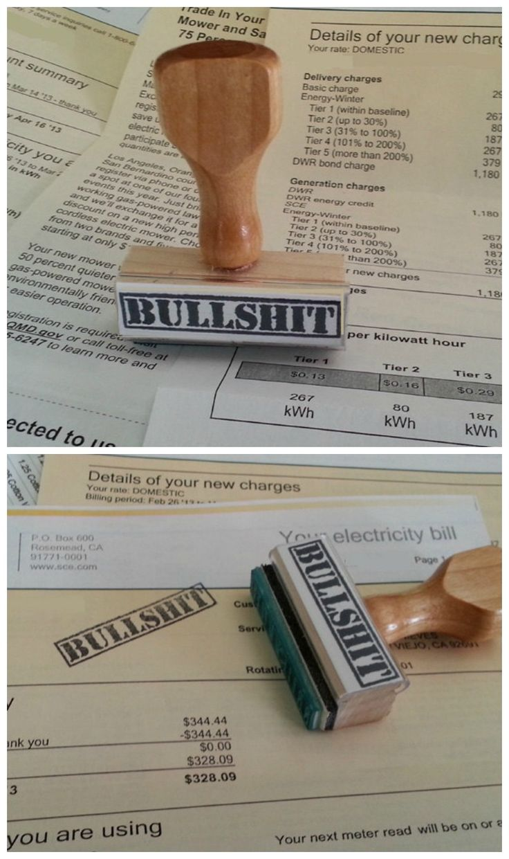 This is a great rubber stamp for all the BS that comes across your desk.