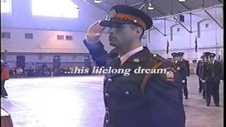 Const. John Petropoulos. (Image from John Petropoulos Memorial Fund public service announcement entitled Make Your Workplace Safe for Everyone)