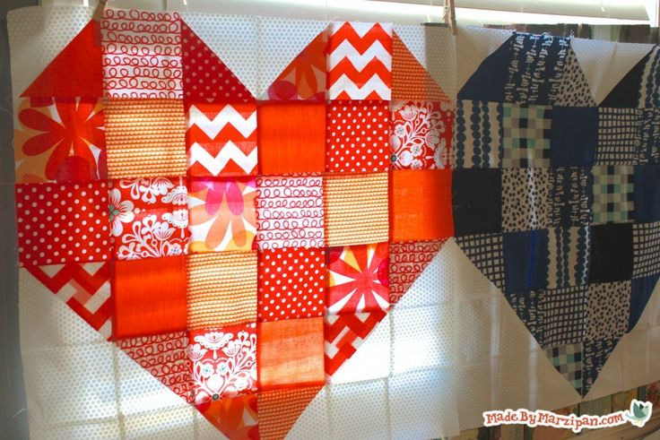 This Heart Quilt Block Tutorial Is Easy And So Versatile!