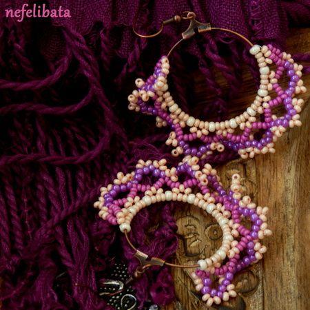 Fairies of Rasberry Kingdom ° boho ° boho chic ° boheme ° hippies ° gypsy ° ethno ° jewelry ° freedom ° joy ° handmade