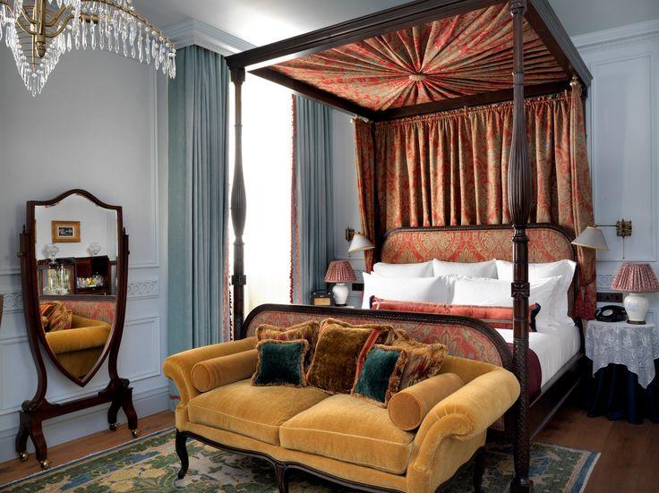 Ned Hotel Soho - Bedroom |  www.bocadolobo.com #hoteldesign #modernhotel #hoteldecoration #interiordesignideas #hotelrooms