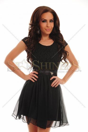 Rochie PrettyGirl Carefully Black