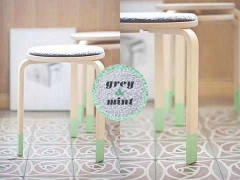 House Decorating with Washi Tape / Decora tu casa Furniture with Washi.