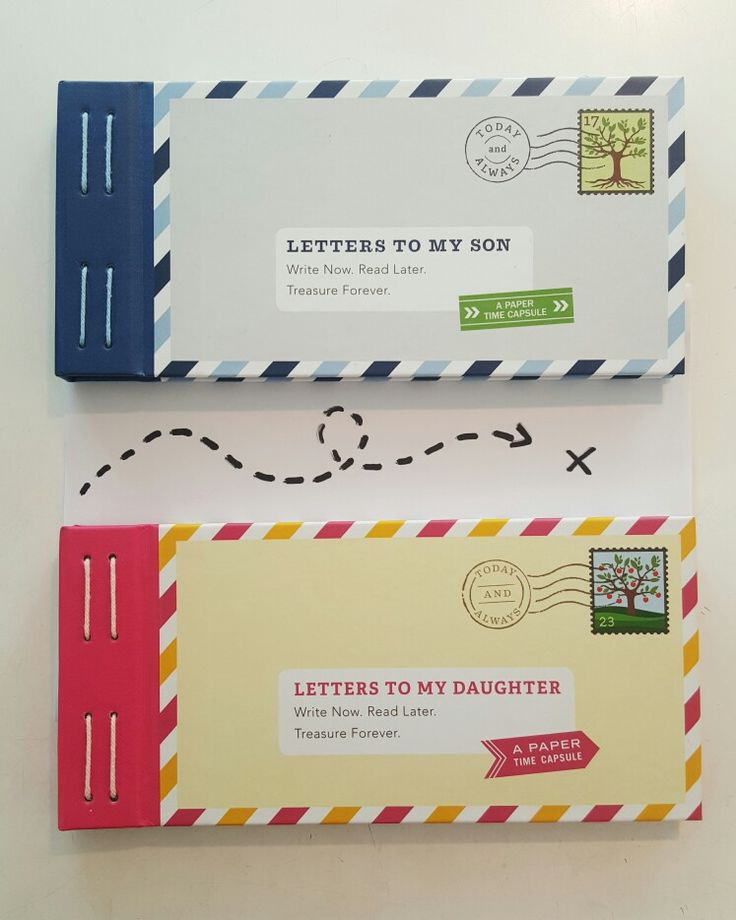 A gift that keeps on giving // write a number of letters for your son or daughter to be opened at different times in their lives