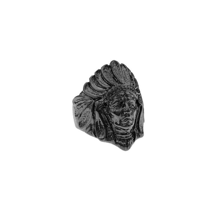 *Mister Chief Ring - Black
