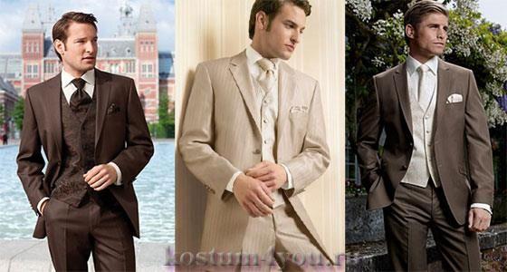 Английский пиджак с высоким воротником