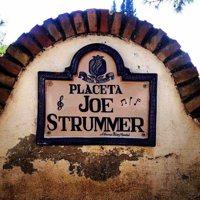 På oppdagelsestur til Joe Strummer Square i Granada - Norske reiseblogger