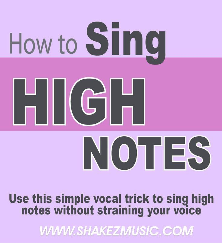 Tips On How To Sing High Notes With Precision Singing Techniques Vocal Lessons Singing Tips