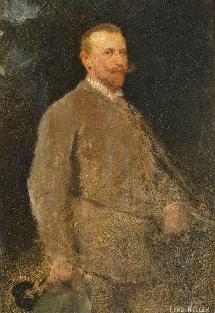 Ferdinand von Keller - Der Jäger; jpg (892×1300)