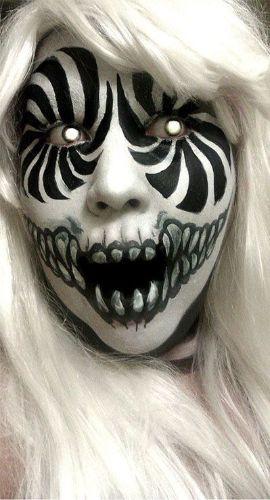 Maquillaje de monstruo - AnsinaEs.com