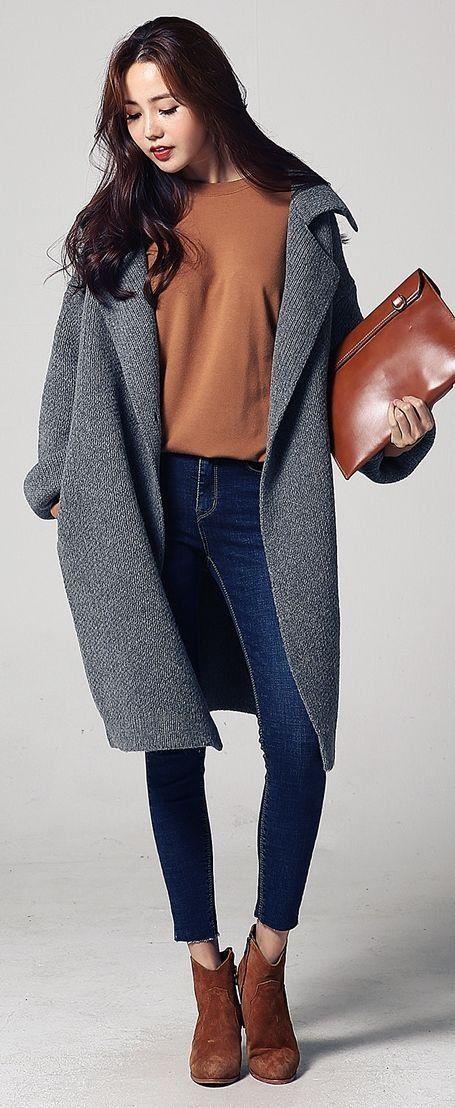 078c92491 2018 new winter coat Korean version long female fashion Slim Down ...